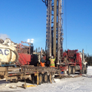 Industrial well drilling
